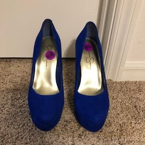 Brand new never used Jessica Simpson heels .